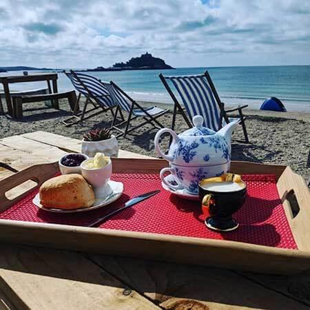 Afternoon Tea On The Beach