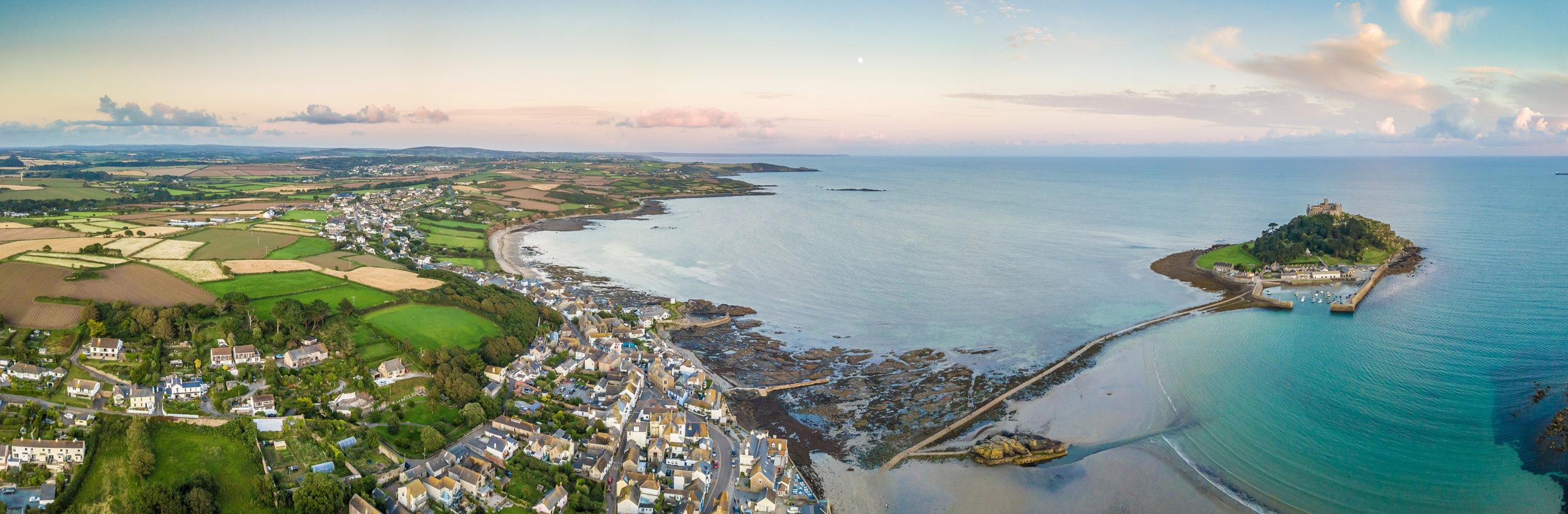 Marazion Aerial View