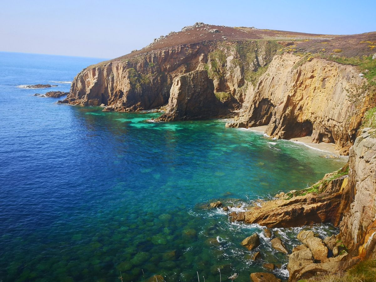 View From Cliffs Marazion